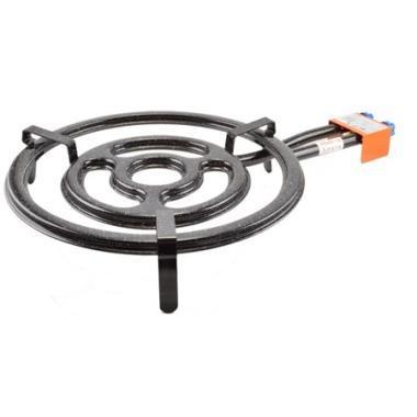 Paella gázégő 50cm, 3 kör/2 gázcsap PB