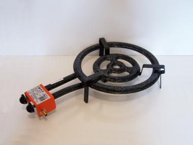 Paella gázégő 40cm, 3 kör/2 gázcsap PB