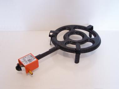 Paella gázégő 30cm, 2 kör/2 gázcsap PB